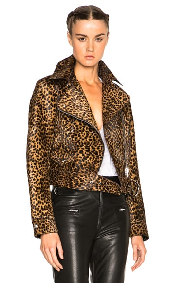 Isabel Marant Eston Wild Pony Coat in Fauve