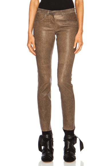 Dana Stretch Leather Pant