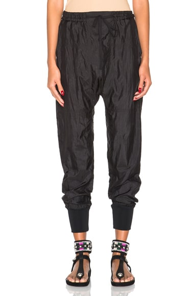 Isabel Marant Keegan Jogger Pant in Black