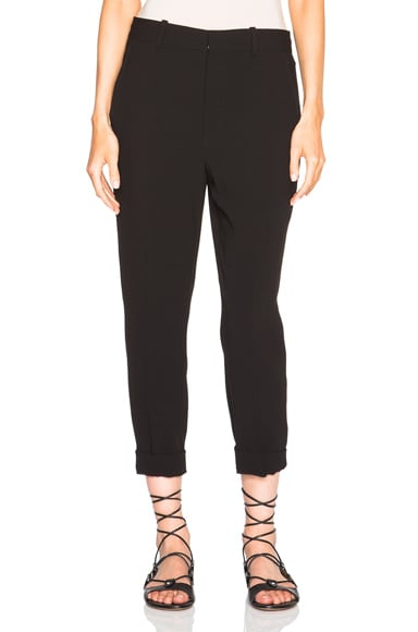 Isabel Marant Milane Floppy Costard Trousers in Black