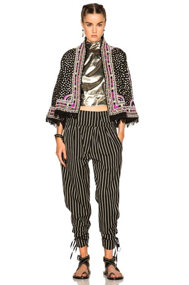 Rodrys Embroidered Stripe Pants