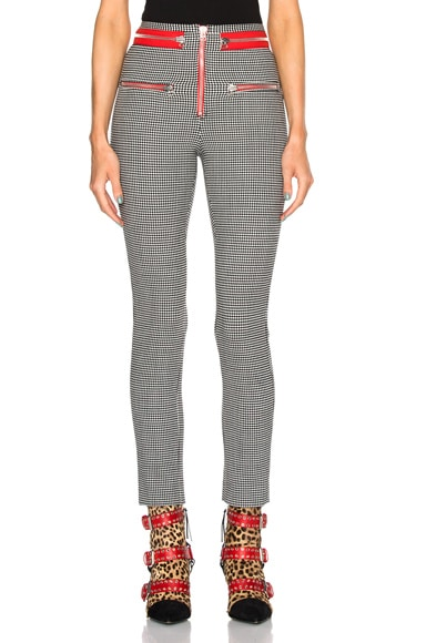 Isabel Marant Lust Stem Pants in Ecru & Black