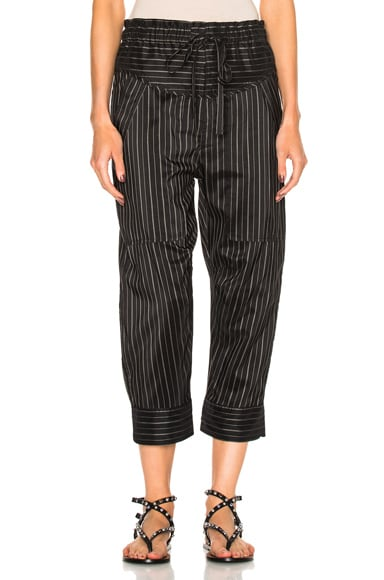 Isabel Marant Shantel Pants in Black