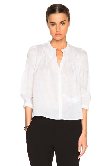 Isabel Marant Rieti Milas Item Top in White