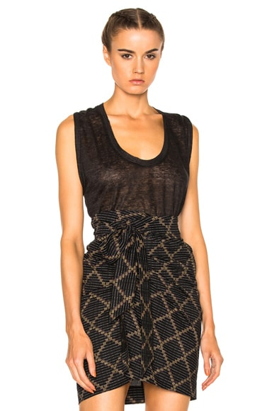 Isabel Marant Maik Tank in Anthracite
