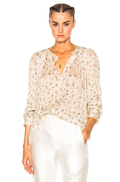 Isabel Marant Thalio Blouse in Ecru