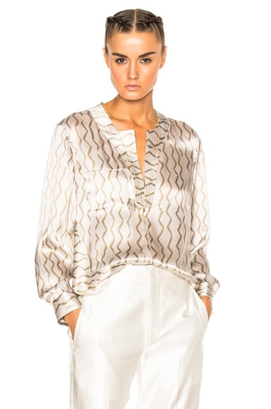 Isabel Marant Simon Blouse in Ecru