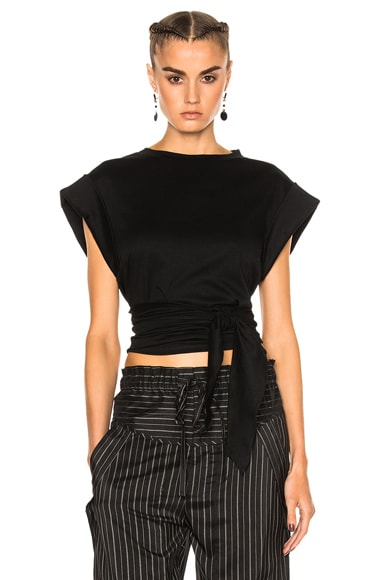 Isabel Marant Lowell Tee in Black