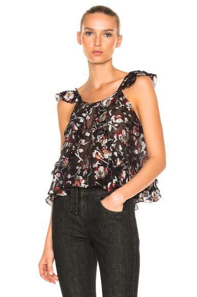 Isabel Marant Piety Top in Blue