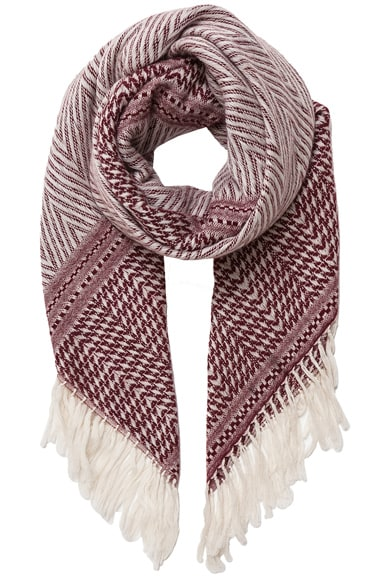 Isabel Marant Clemence Scarf in Burgundy