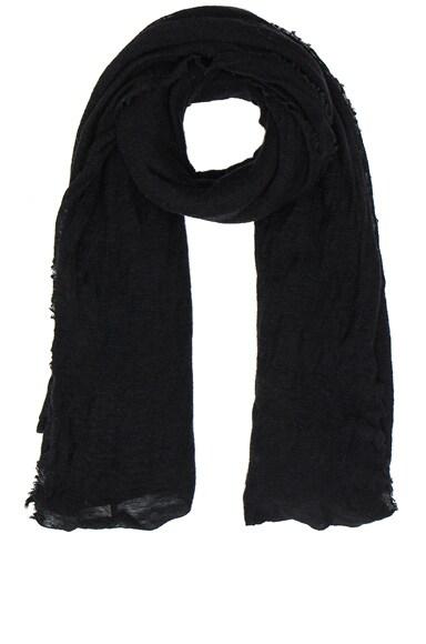 Isabel Marant Zephyr Cashmere Scarf in Black