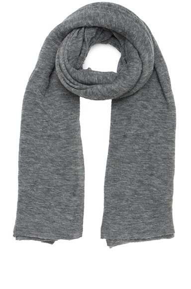 Isabel Marant Zephyr Cashmere Scarf in Grey