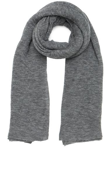 Isabel Marant Zephyr Cashmere Scarf in Grey