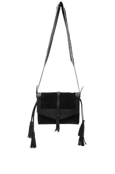 Isabel Marant Hira Show Bag in Black