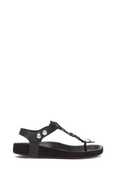 Brook Lambskin Leather Sandal