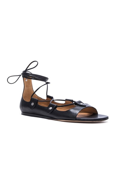 Alisa Leather Flats