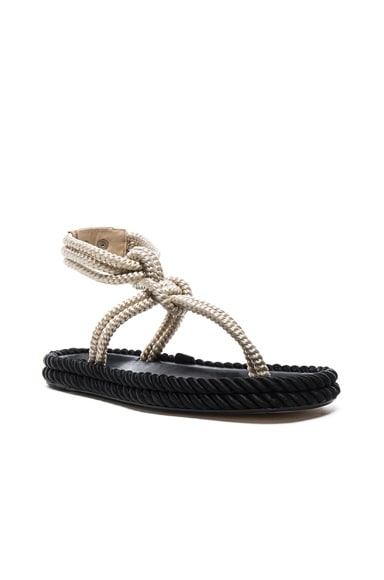 Lesley Rope Sandals