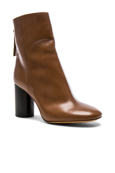 Leather Garett Boots