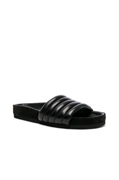 Hellea Padded Leather Sandals