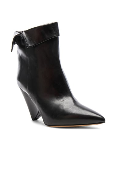 Leather Luliana Ankle Boots
