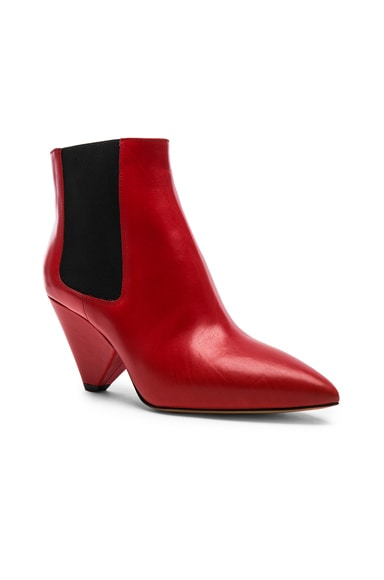 Leather Lashby Low Boots