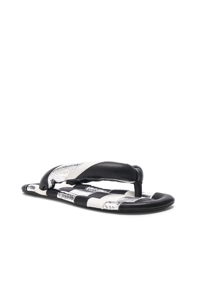 Leather Eckily Sandals