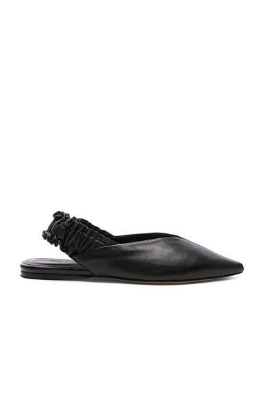 Leather Linta Flats