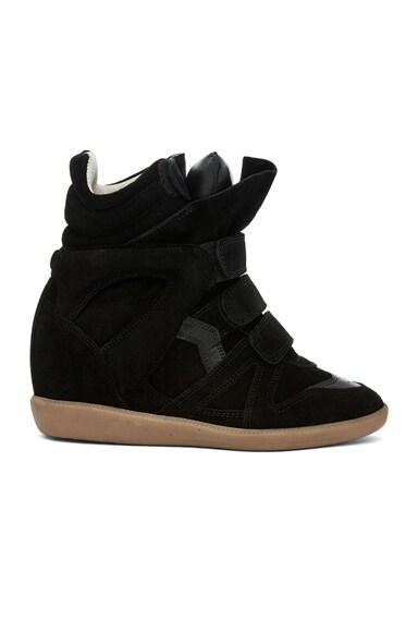 Bekett Calfskin Suede Sneakers