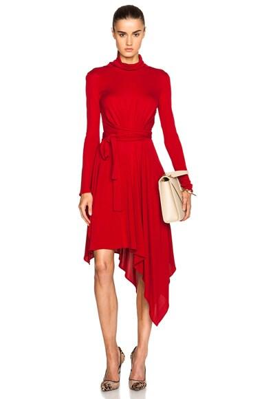 Issa Milten Dress in Pomegranate