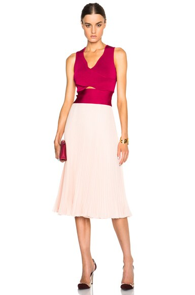 Issa Vienna Dress in Desert Rose Multi