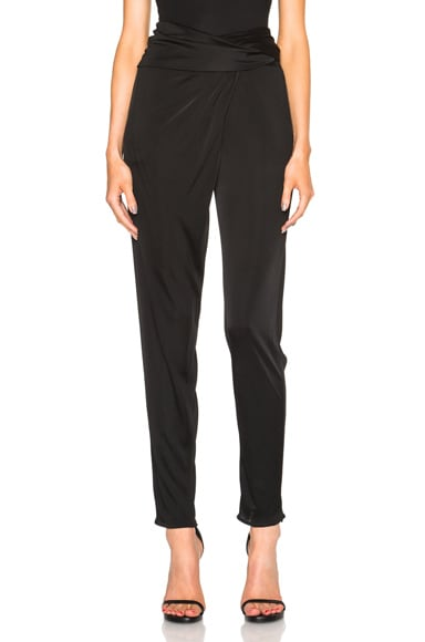 Issa Prudencia Pants in Black
