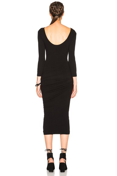 Low Back Skinny Dress