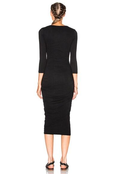 Classic V-Neck Skinny Dress