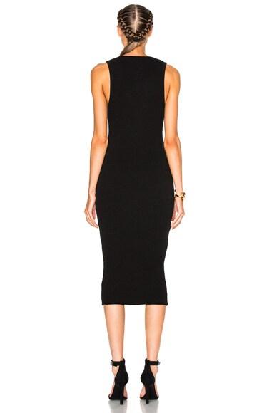 Heavy Rib V-Neck Dress