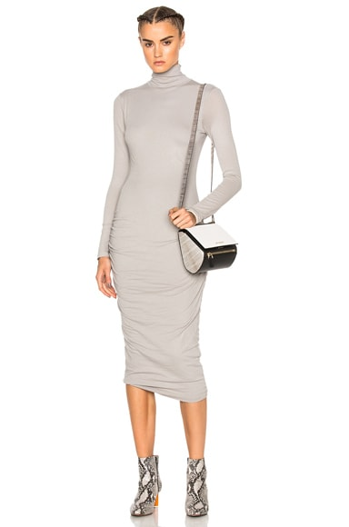 James Perse Turtleneck Skinny Dress in Dapple