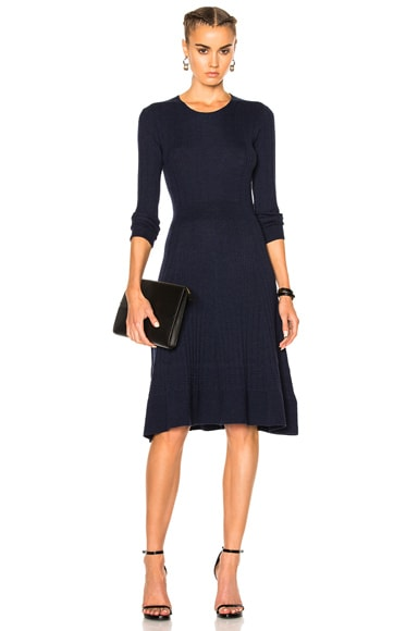 James Perse Vintage A-Line Dress in Navy