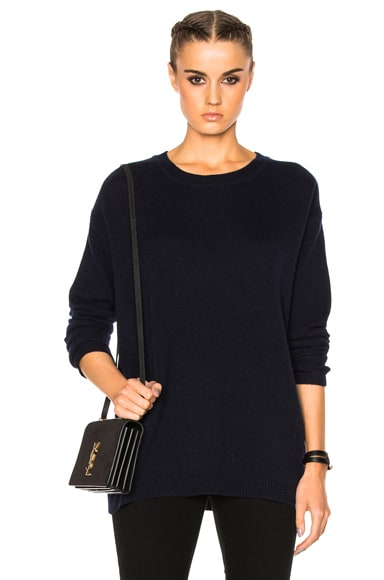 James Perse Oversized Sweater in French Navy