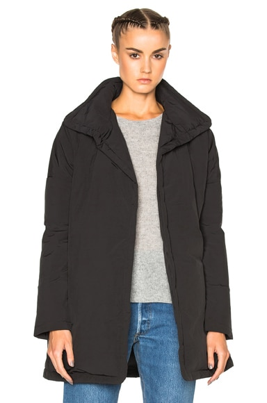 James Perse Lightweight Oversized Jacket in Black