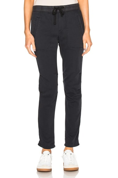 James Perse Super Soft Twill Pants in Carbon