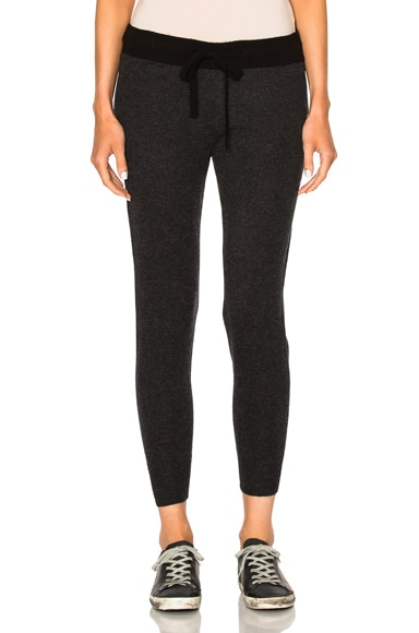 James Perse Cashmere Genie Pants in Anthracite