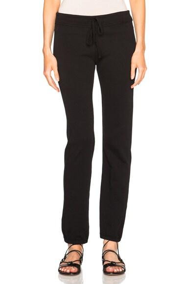 James Perse Genie Sweatpants in Black