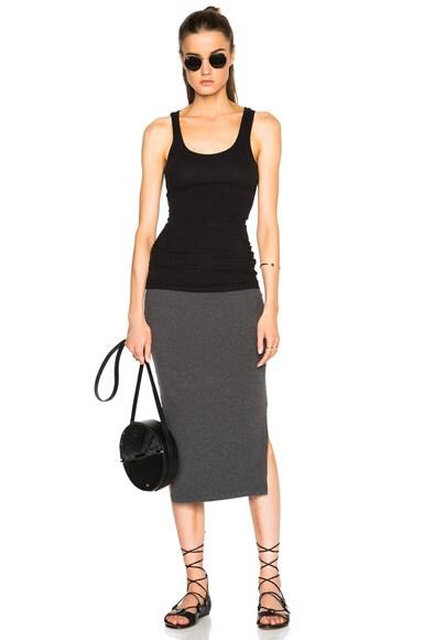 Double Split Mini Skirt