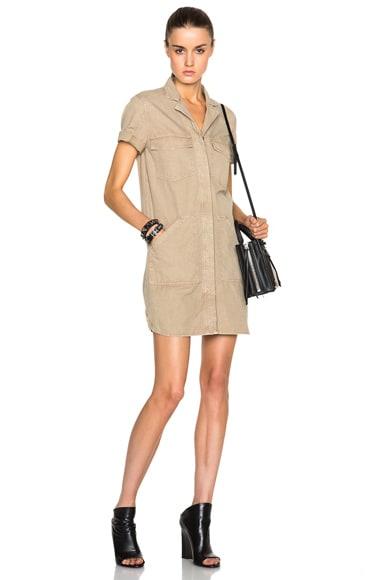 J Brand Kona Dress in Quicksand