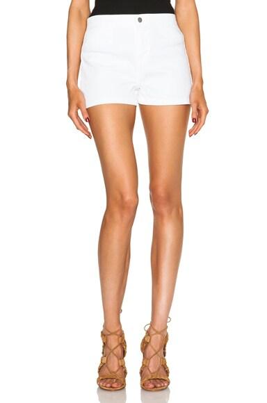 J Brand High Rise Tailored Shorts in Awaken