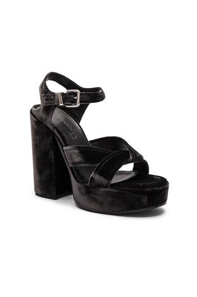 Platform Velvet Heels