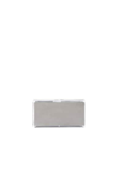 Jimmy Choo Box Clutch in Silver