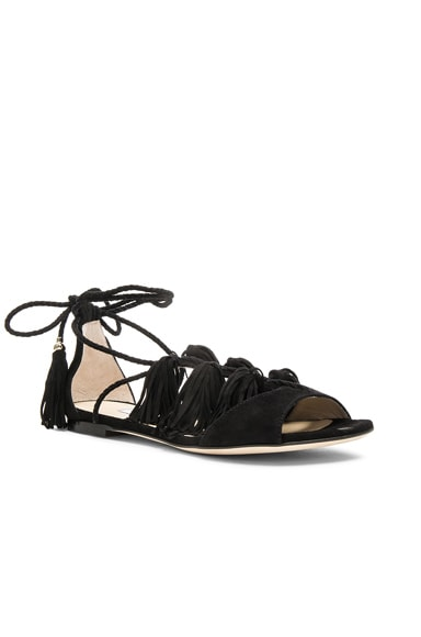 Suede Mindy Sandals