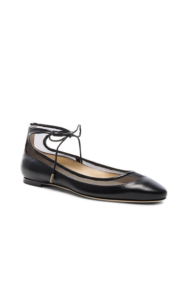 Leather Tyler Flats