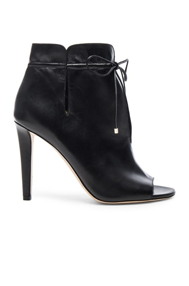 Jimmy Choo Leather Memphis Booties in Black
