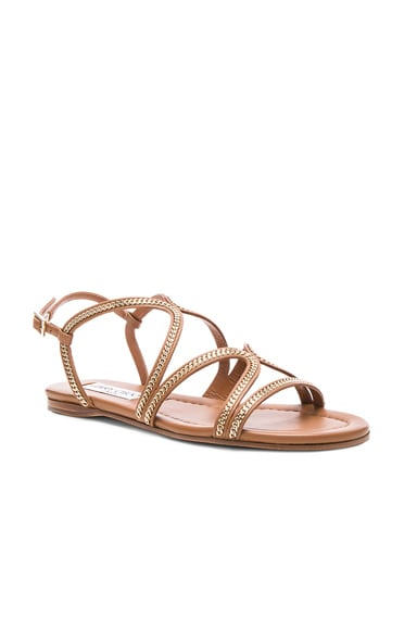 Leather Nickel Sandals
